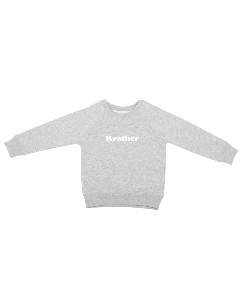 Bob and Blossom Marl Grey Brother Sweatshirt