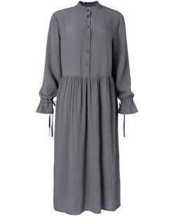 Yaya Steel Grey Maxi Dress
