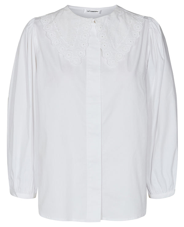 Cocouture Hera Broderie White Shirt
