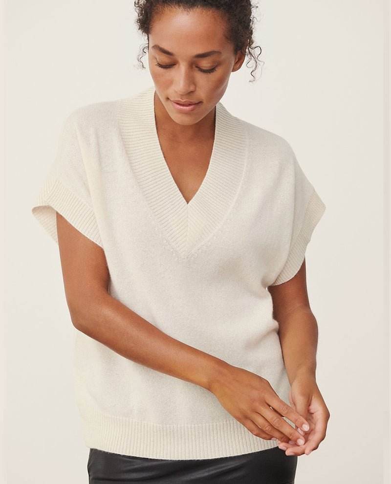 Part Two Hevin Cream Cashmere Knit
