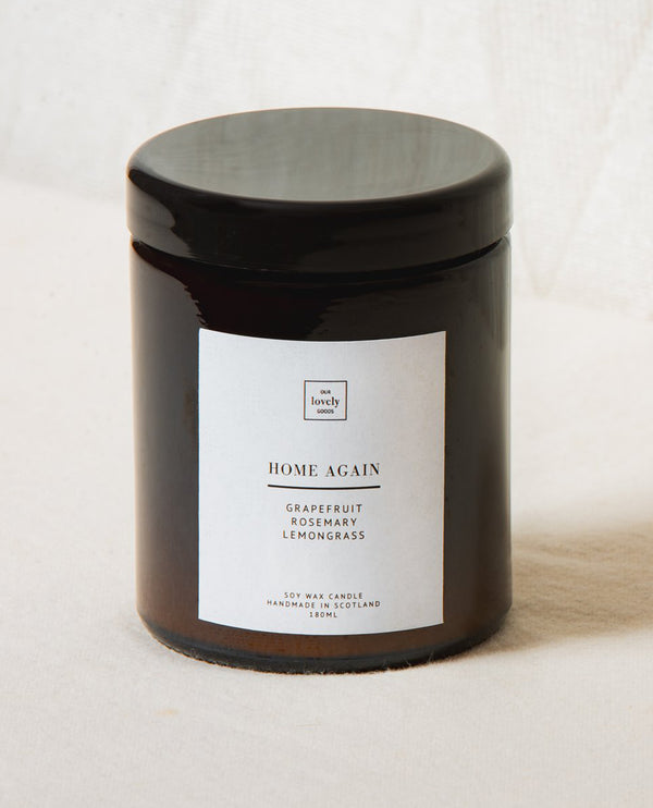 Our Lovely Goods Home Again Candle