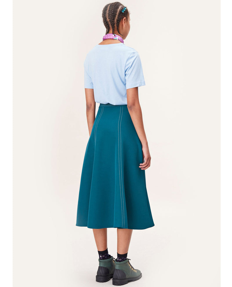 Stine Goya Jada Teal Skirt