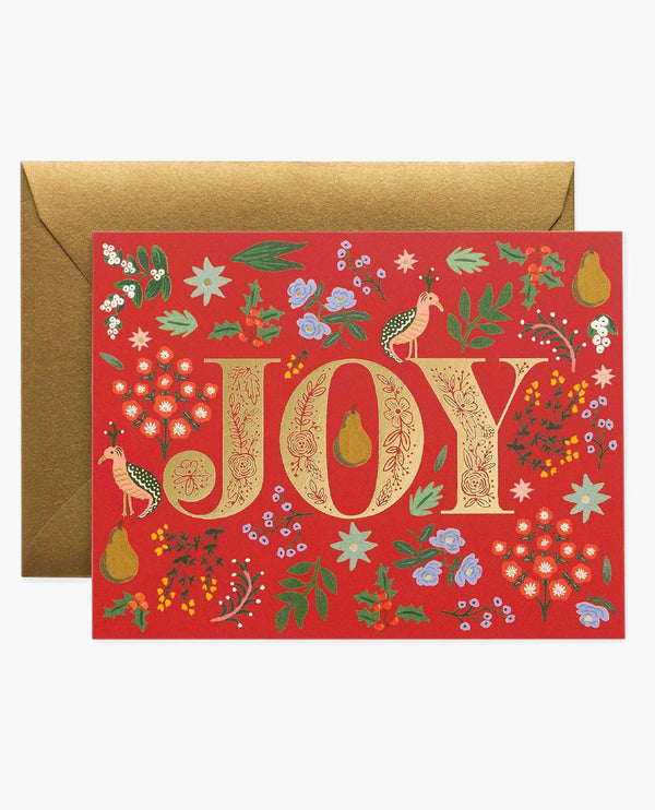Rifle Paper Co. Partridge Christmas Card Box