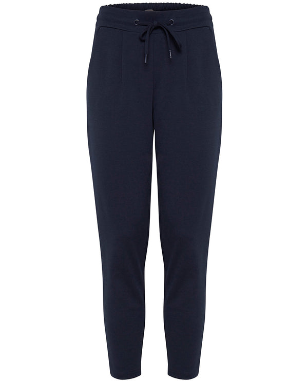 Ichi Kate Navy Trousers