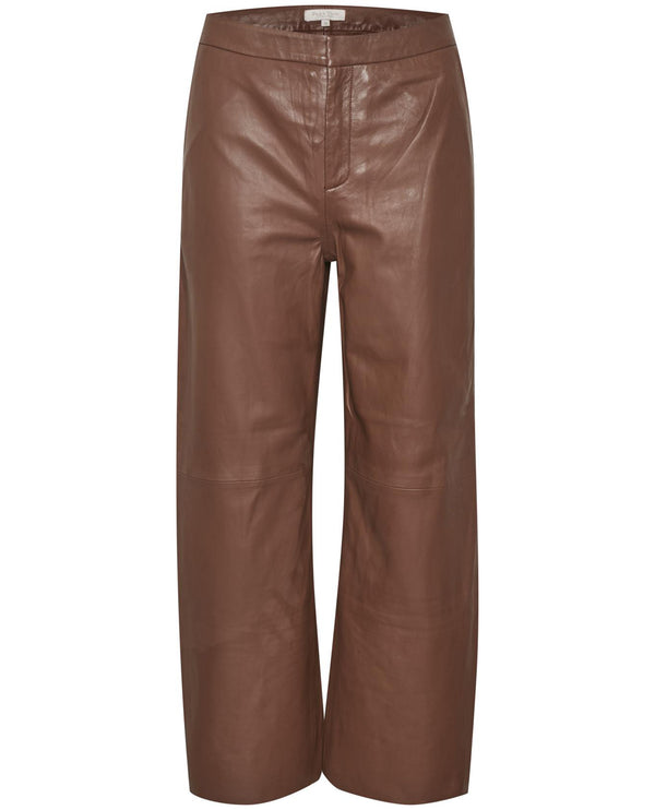 Part Two Elah Brown Trousers