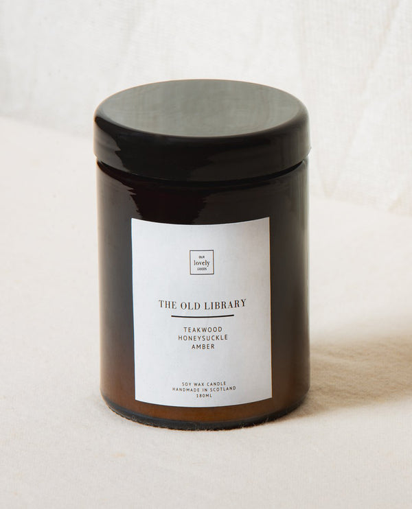 Our Lovely Goods Old Library Candle