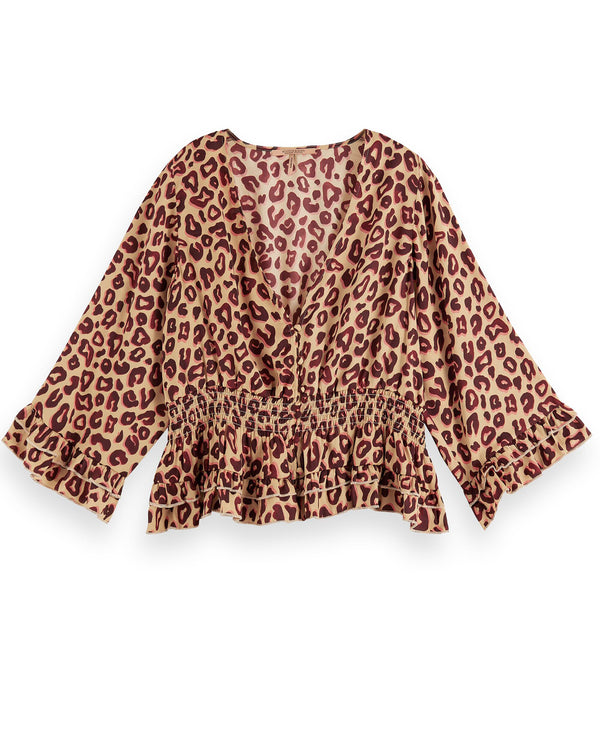 Scotch and Soda Leopard Top