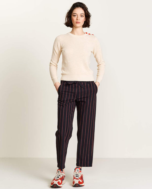 Bellerose Lou Stripe Trousers