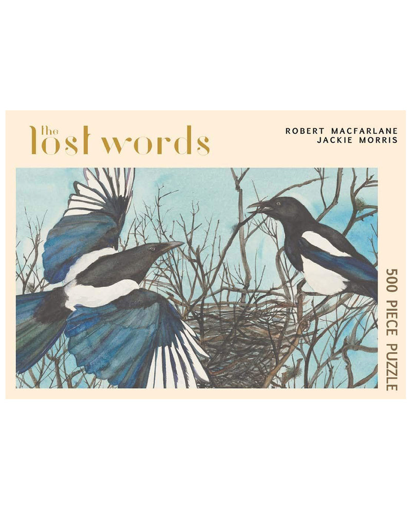 Lost Words Magpie Jigsaw Puzzle