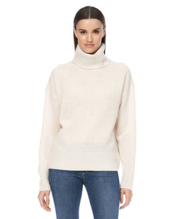 360 Cashmere Maybel Chalk Knit