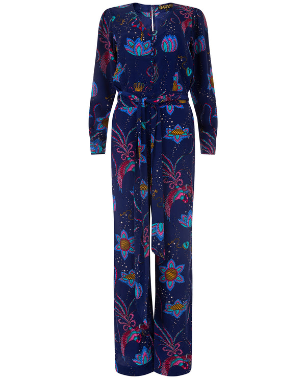 Stardust Nina Navy Bird Jumpsuit