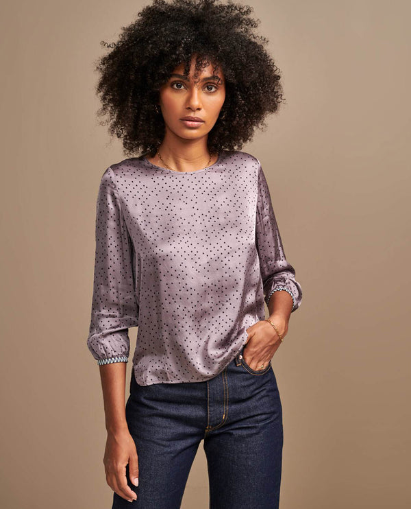 Bellerose Solong Lilac Blouse