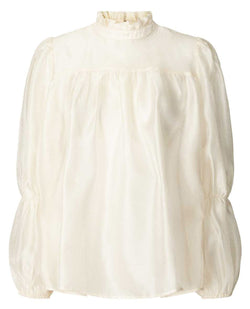 Lollys Laundry Palma Cream Blouse