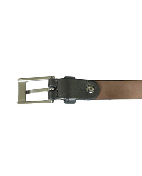 Fioriblu ladies Skinny Gold metallic Leather belt | Biscuit Clothing Edinburgh