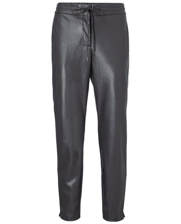 Yaya Phantom Faux Leather Trousers