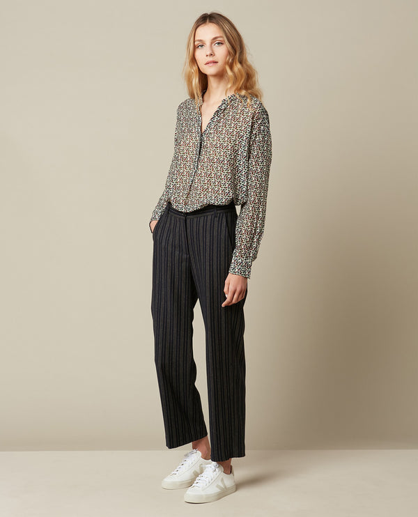 Hartford Pike Striped Trousers