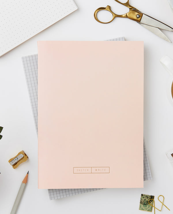 Katie Leamon Wiro Pink Notebook