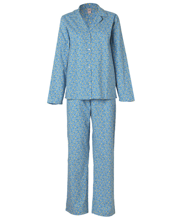 Back Sondergaard Tiny Flower Blue Pyjama Set