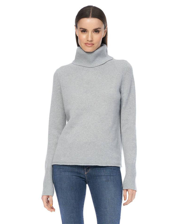 360 Cashmere Poppi Misty Blue Knit