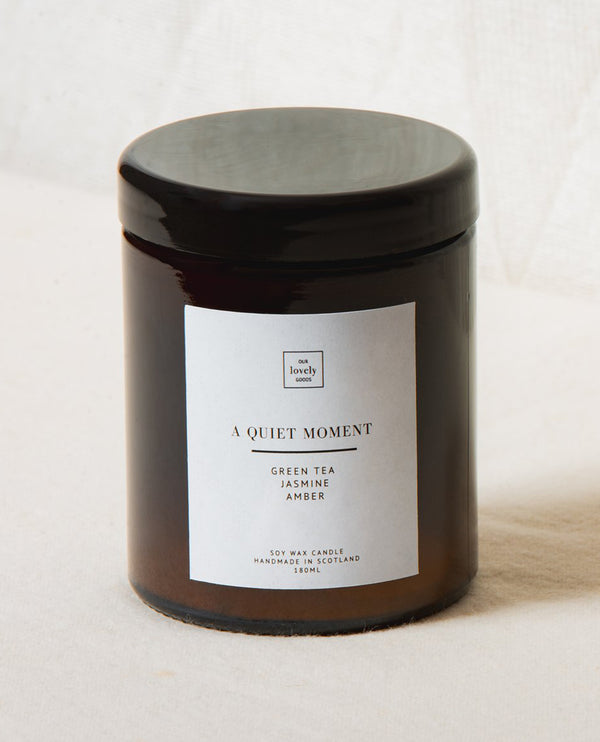Our Lovely Goods Quiet Moment Candle