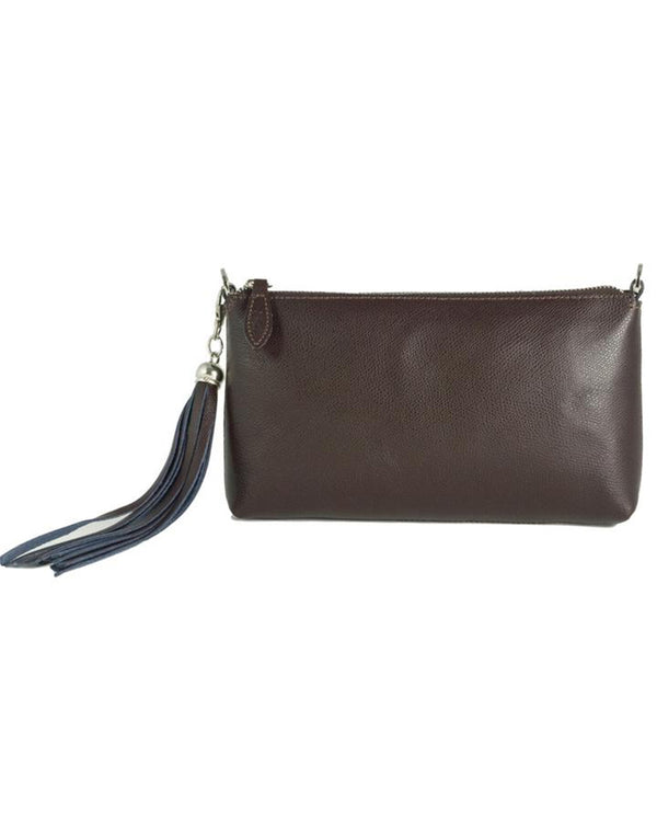 Fioriblu Forget Me Not Clutch Brown