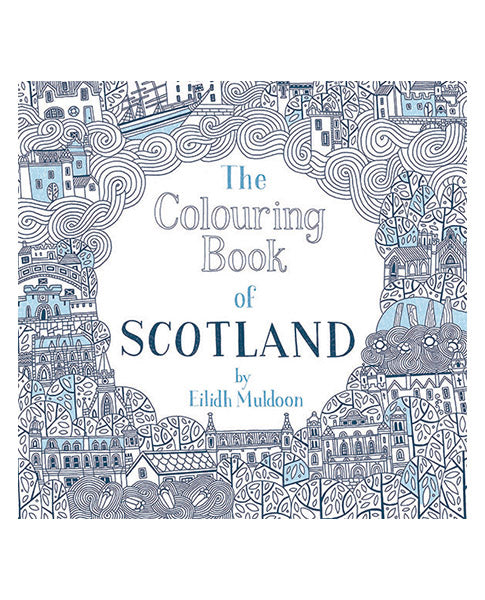Book - Colouring Book of Scotland | Biscuit Clothing