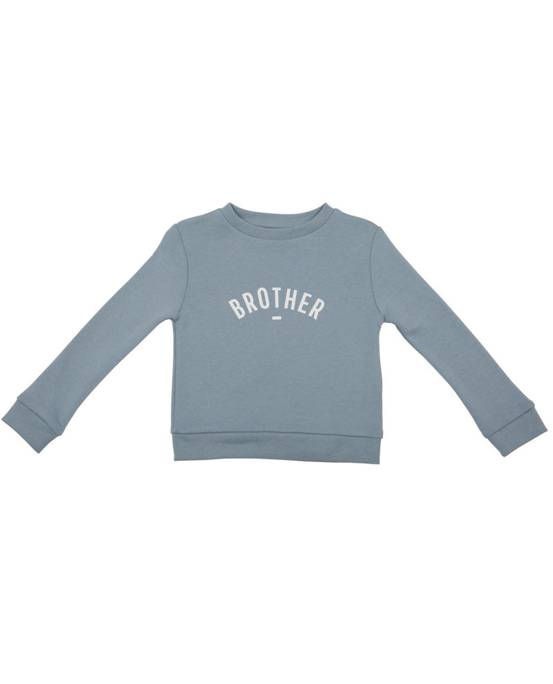 Bob and Blossom Steel Blue Brother Sweatshirt