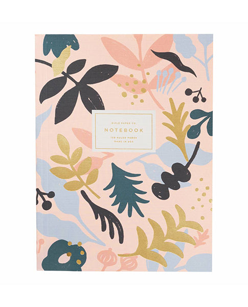 Rifle Paper Co. Memoir Notebook Pink Sun print | Biscuit Clothing