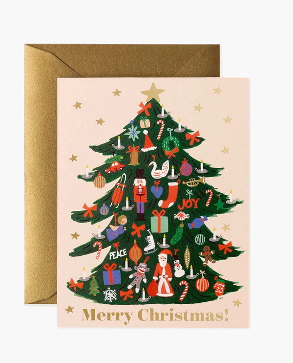 Rifle Paper Co. Trimmed Tree Card