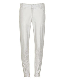 Part Two Urban Dark White Chino Trousers