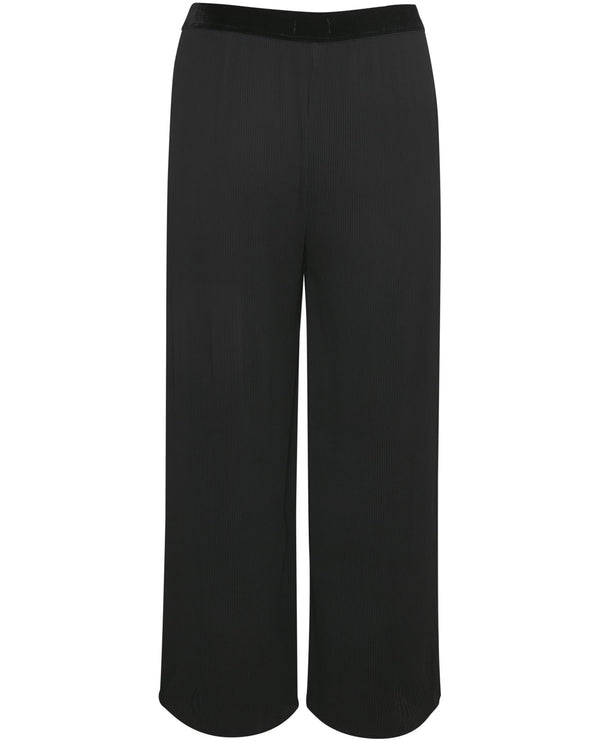 Part Two Valene Black Cropped Trousers