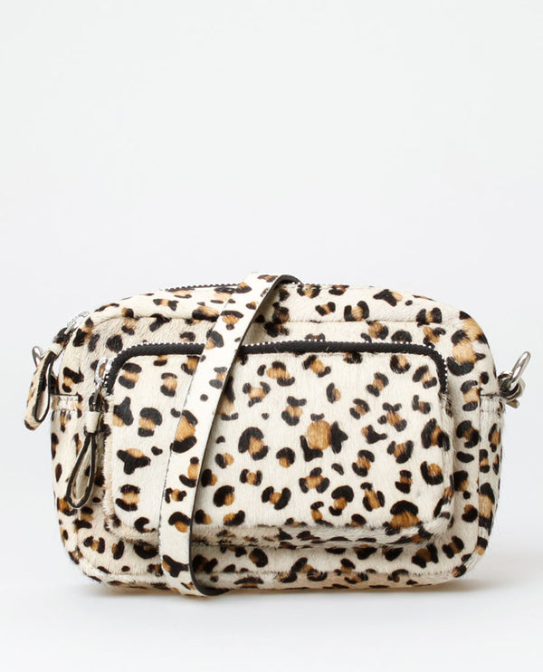 Treats Vera Leopard Bag