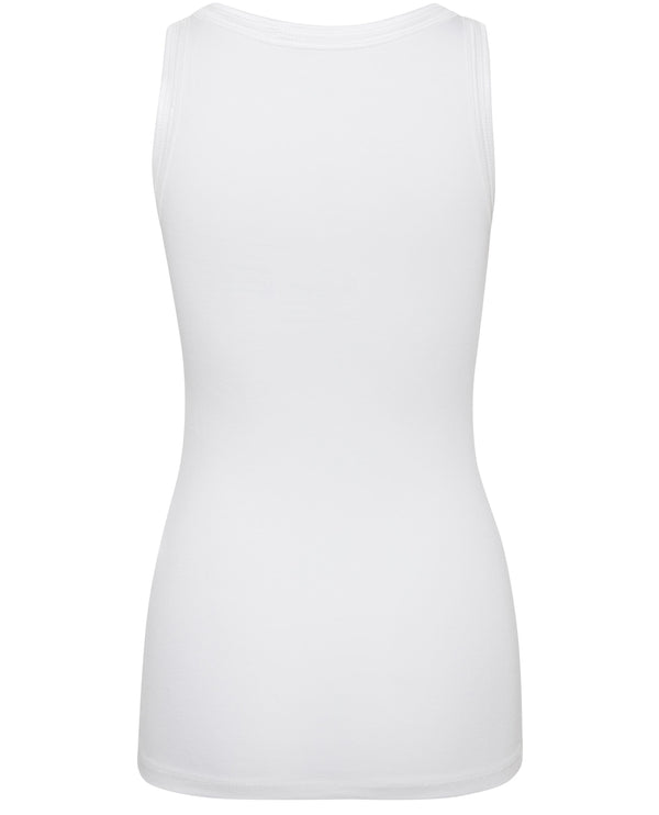 Ichi Zola White Vest Top