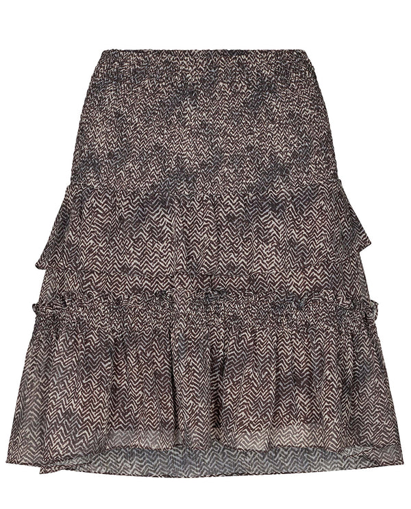 Cocouture Zorro Mocca Mini Skirt