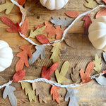 Fall leaf garland!
