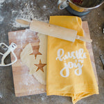 Hustle for Joy towel