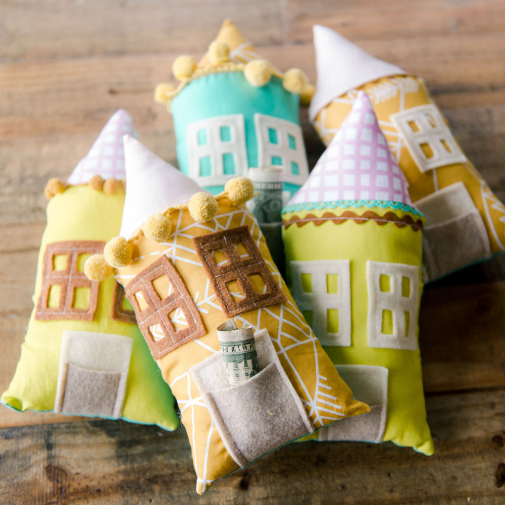 House Tooth Fairy pillow