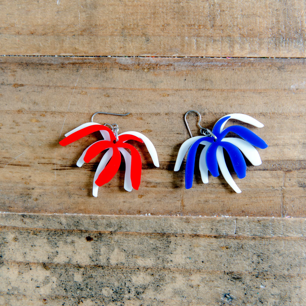 Firework earrings