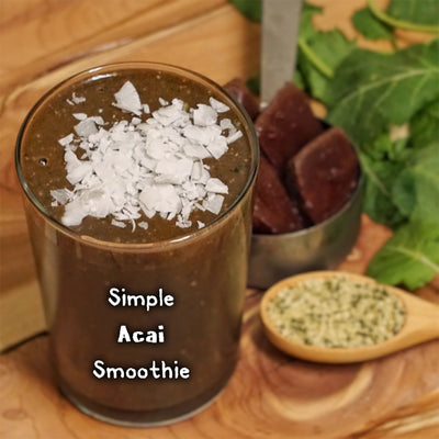 Simple Acai Smoothie Recipe