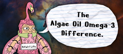 The Algae Oil Omega-3 Difference