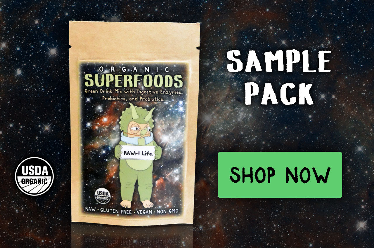 RAWr! Superfoods Sample Pack.