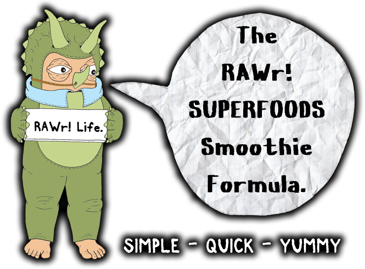 the rawr superfoods smoothie formula simple quick yummy