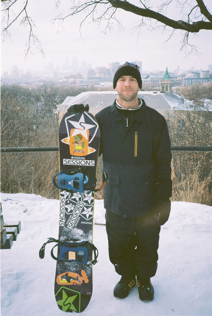 ryan paul snowboard