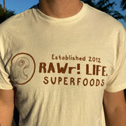 RAWr! Life. Side Logo - Shirt