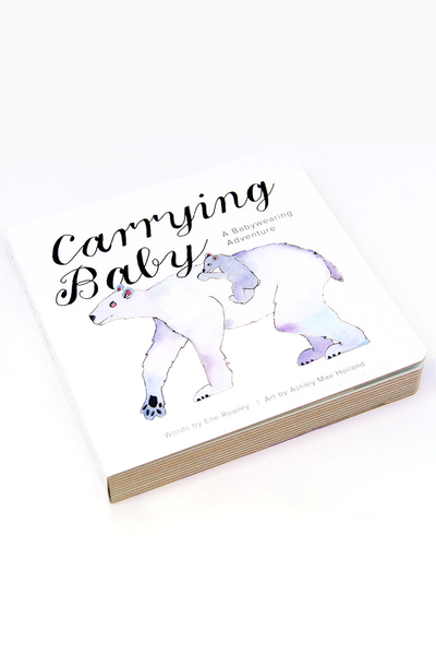 Carrying Baby Board Children's Book