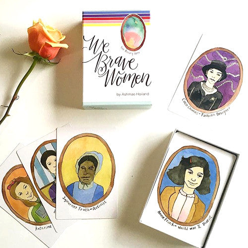 We Brave Women Cards
