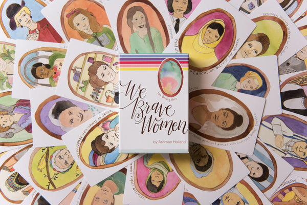 1. We Brave Women Cards
