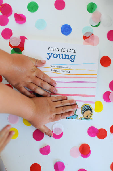 When You Are Young, Board Book