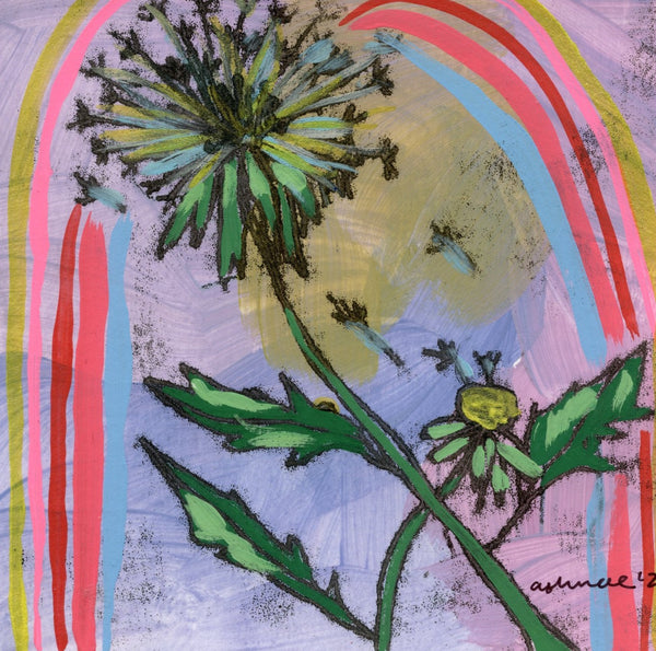 Blowing DandelionLimited Edition 5x5 inch print