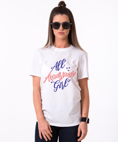 All American Girl, 4th of July Shirt